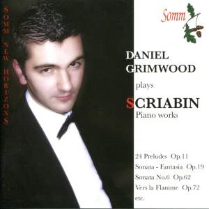Daniel Grimwood plays Scriabin Piano Works
