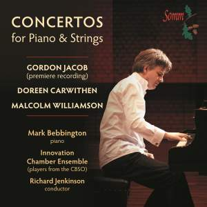 Concertos for Piano and Strings: Mark Bebbington Product Image
