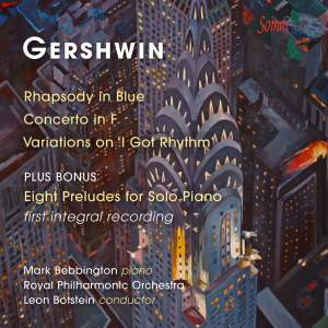 Mark Bebbington plays Gershwin