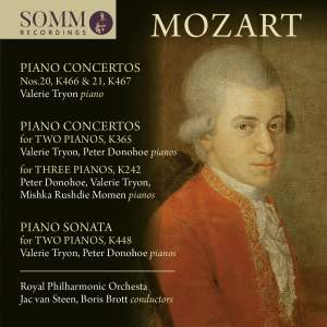 Mozart: Piano Concertos for One, Two and Three Pianos Product Image