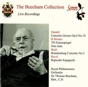 Beecham conducts Handel, Ravel & Strauss