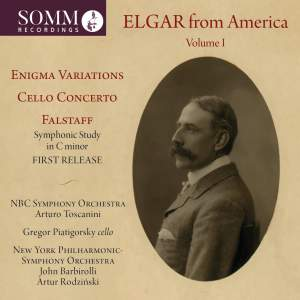 Elgar from America, Vol. 1