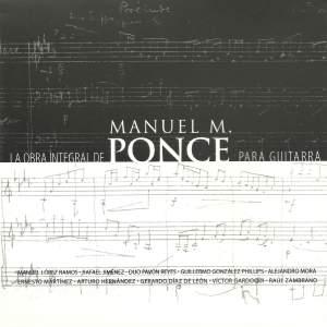 La obra integral de Manuel M. Ponce para Guitarra