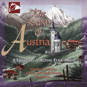 The Sound of Austria: A Treasury of Alpine Folk Music Product Image