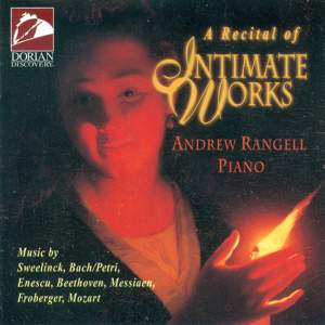 A Recital of Intimate Works Product Image