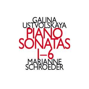 Galina Ustvolskaya: Piano Sonatas Nos. 1-6