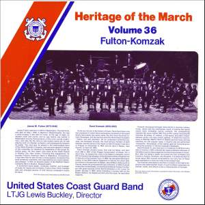 Heritage of the March, Vol. 36: The Music of Fulton and Komzak