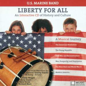 United States Marine Band: Liberty for All - An Interactive CD of History and Culture Product Image