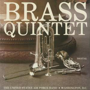United States Air Force Brass Quintet: Brass Quintet Product Image