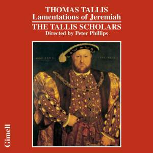 Tallis - Lamentations of Jeremiah