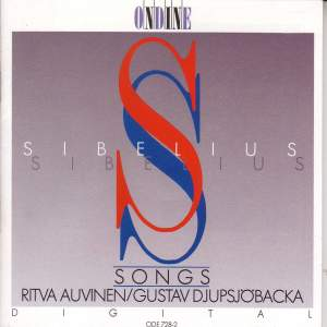 SIBELIUS, J.: Vocal Music (Auvinen, Djupsjobacka) Product Image