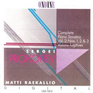 Prokofiev: Piano Sonatas Nos. 1-3 & Visions Fugitives Product Image