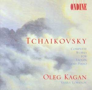 Tchaikovsky: Complete Works for Violin & Piano Product Image