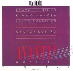 Heininen, Hakola, Kurtag & Koskinen: String Quartets Product Image