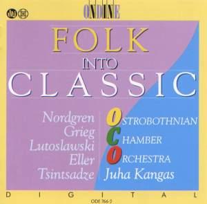 NORDGREN, P.H.: Pelimannimuotokuvia / ELLER, H.: 5 Pieces / GRIEG, E.: 2 Nordic Melodies (Folk into Classic) (Kangas) Product Image