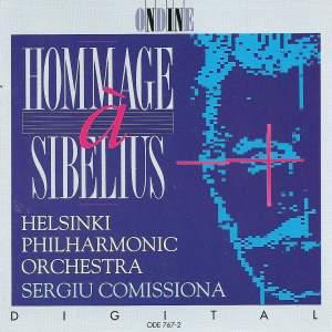HOMMAGE A SIBELIUS (Helsinki Philharmonic, Comissiona)
