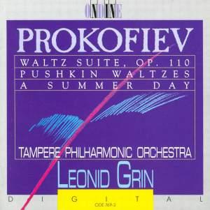 Prokofiev: Waltz Suite, Pushkin Waltzes & Summer Day Product Image