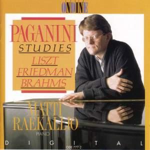 Piano Recital: Raekallio, Matti - LISZT, F. / FRIEDMAN, I. / BRAHMS, J. (Paganini Studies) Product Image