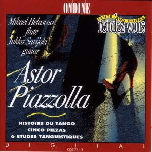 Astor Piazzolla Works for Flute and Guitar Product Image