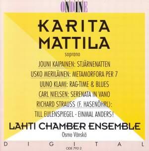 Karita Mattila sings Kaipainen, Meriläinen, Klami, Nielsen & Strauss