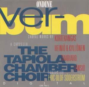 VERBUM: An Anthology of Choral Works by Kortekangas, Saariaho, Lansio, Heinio and Kyllonen Product Image