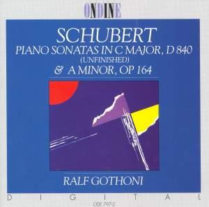 SCHUBERT, F.: Piano Sonatas Nos. 4 and 15 (Gothoni)