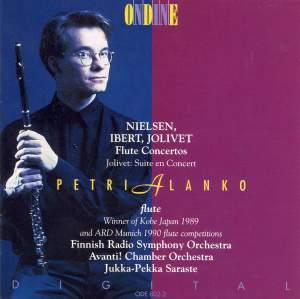 Nielsen, Ibert & Jolivet: Flute Concertos Product Image