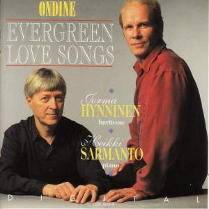Vocal Recital: Hynninen, Jorma (Evergreen Love Songs) Product Image