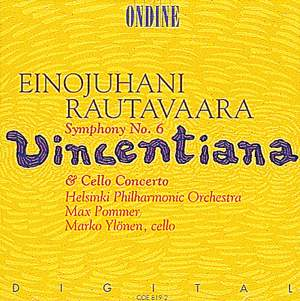 Rautavaara: Symphony No. 6 & Cello Concerto Product Image