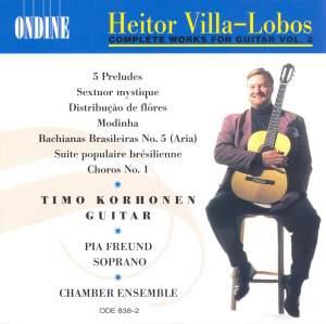 Villa-Lobos: Complete Works for Guitar, Vol. 2