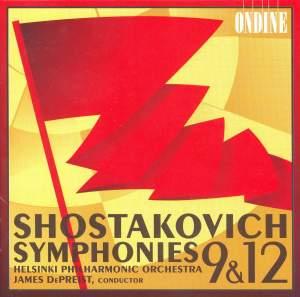 Shostakovich: Symphonies Nos. 9 & 12