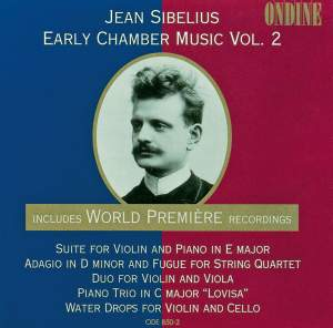 Jean Sibelius Early Chamber Music Vol. 2 Product Image