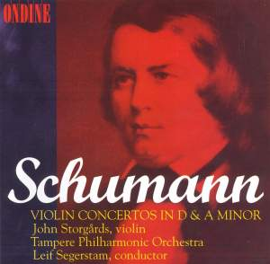 Schumann: Violin Concerto in D minor, WoO 23, etc. Product Image