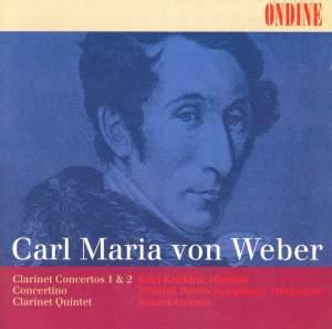 Weber - Clarinet Concertos Nos. 1 & 2 Product Image