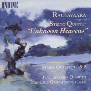 "Rautavaara: String Quintet ""Unknown Heavens"" (1997), etc. Product Image"
