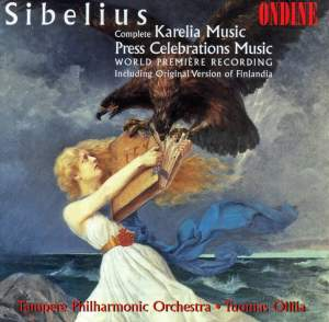 Sibelius: Karelia Music & Press Celebrations Music Product Image