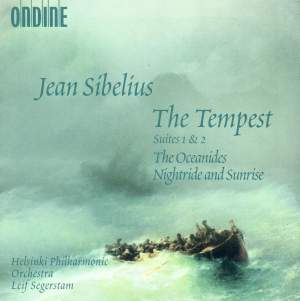 Sibelius: The Tempest Suites Nos. 1 & 2 Product Image