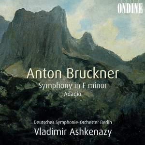 Bruckner: Symphony No. 00 & Adagio from String Quintet Product Image
