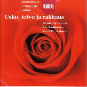 Vocal Recital: Hynninen, Jorma / Ruuttunen, Esa / Tiilikainen, Sauli - KOKKONEN, J. / DVORAK, A. / PYLKKANEN, T. / TIKKA, K. / PIIPARINEN, M.