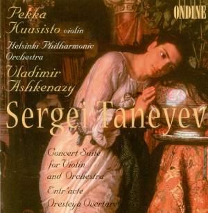 Taneyev, S: Suite de Concert Op. 28, etc.