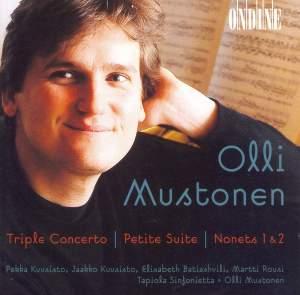 Mustonen: Triple concerto for Three Violins and Orchestra (1998), etc.