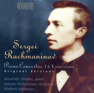 Rachmaninov: Piano Concerto No. 1 in F sharp minor, Op. 1, etc.