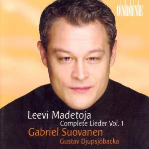 Leevi Madetoja: Complete Lieder Vol. 1 Product Image