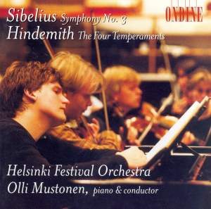 Sibelius: Symphony No. 3 & Hindemith: Die vier Temperamente