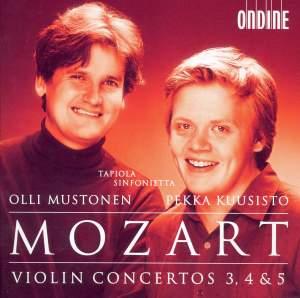 Mozart - Violin Concertos Nos. 3, 4 & 5 Product Image