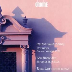 Brouwer, L: Estudios Sencillos, etc.