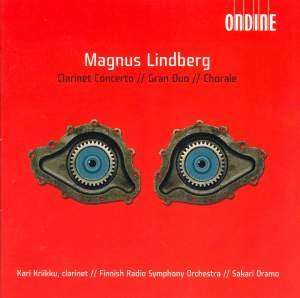 Lindberg: Clarient Concerto & Orchestral Works Product Image