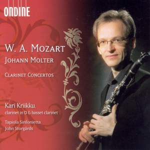 Molter & Mozart: Clarinet Concertos Product Image