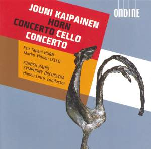 Kaipainen: Horn Concerto & Cello Concerto Product Image