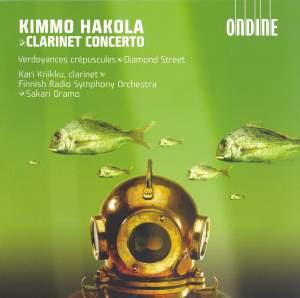 Hakola: Clarinet Concerto, etc. Product Image